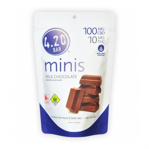 420Bar Minis_Milk 10to1