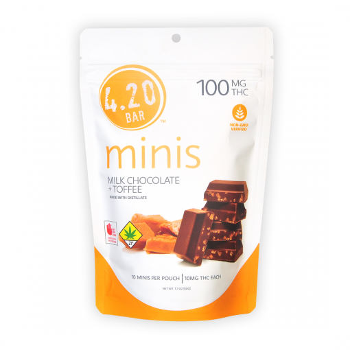 420Bar Minis_Toffee