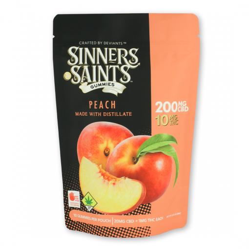 20-1 Peach Gummy Square